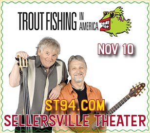 Trout Fishing in America is the longstanding, four time Grammy nominated musical partnership of Keith Grimwood and Ezra Idlet. A willingness to at once make fun of our most annoying daily habits, then to touch our hearts with tender and passionate images of family life, is what makes the connection between Trout Fishing in America and its audiences so compelling and poignant. They are known as the Lennon and McCartney of kids' music.